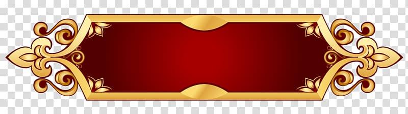 Web banner, Decorative Banner , brass.