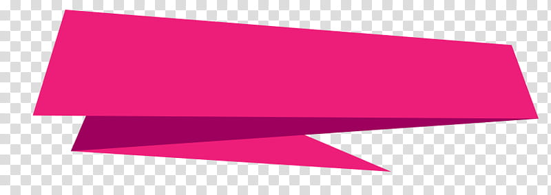 Banners, pink border transparent background PNG clipart.