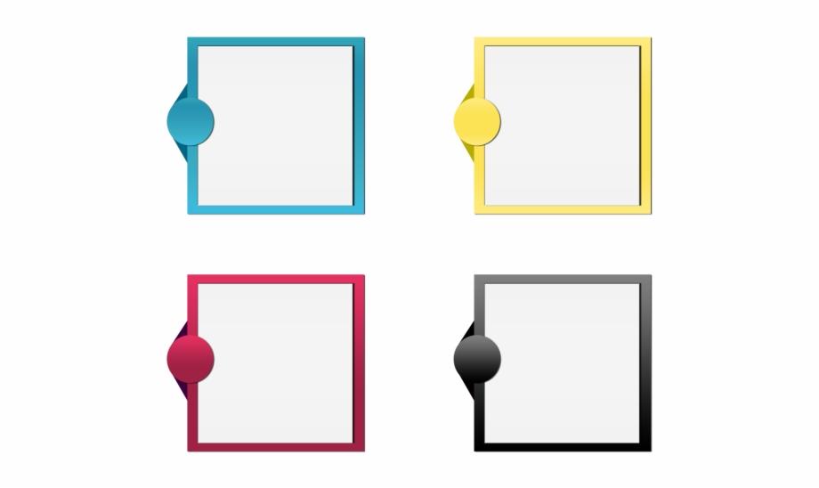 Vector Banner Ribbon Text Box Psd File.