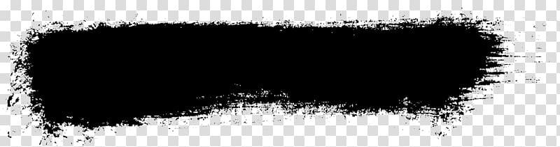Banner Brush Grunge, brush stroke transparent background PNG.