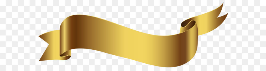 Gold Ribbon Ribbon png download.