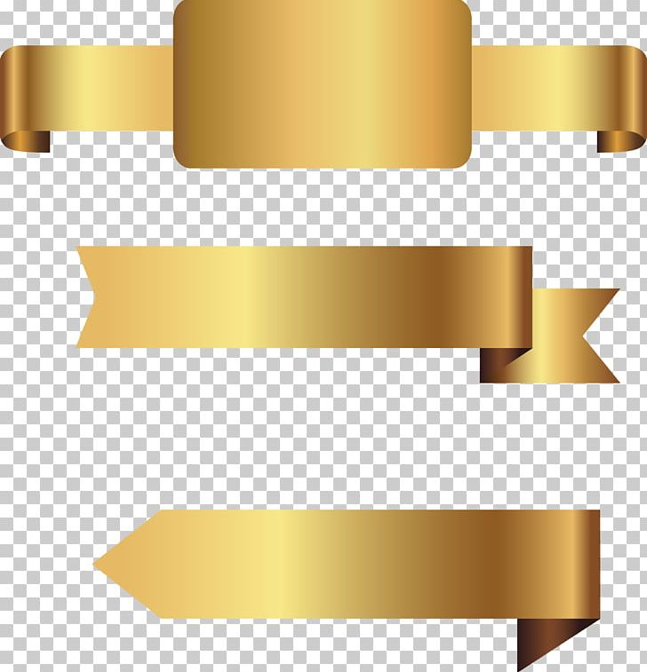 Hand Painted Gold Label PNG, Clipart, Angle, Banner, Banners.