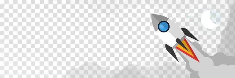 Logo Brand Font, rocket banner transparent background PNG.