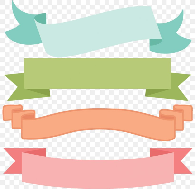 Borders And Frames Banner Scrapbooking Clip Art, PNG.