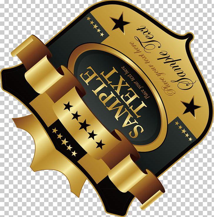 Brand Gold Frame Font PNG, Clipart, Art, Banner Design.