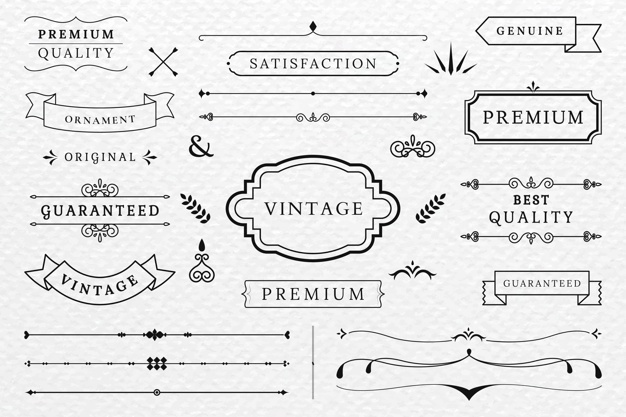 Vintage Banner Vectors, Photos and PSD files.