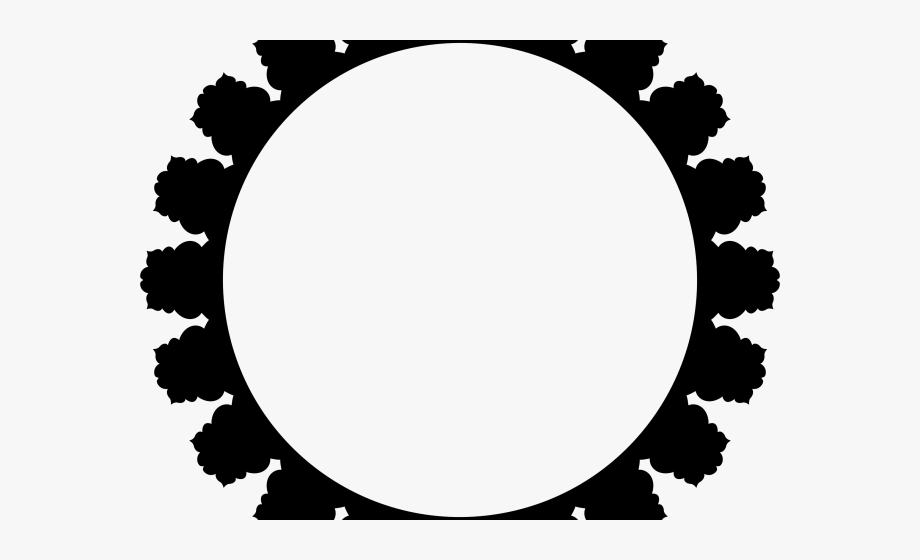 Oval Clipart Banner.