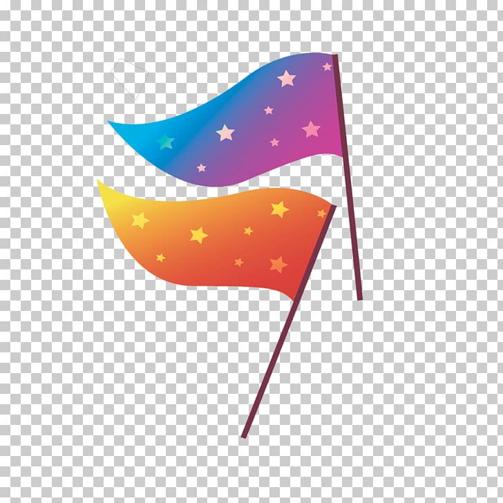 Euclidean , Star banner material PNG clipart.