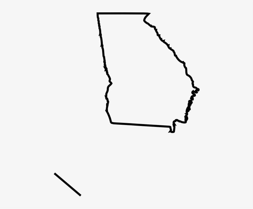 Georgia Outline Png Banner Library Download.