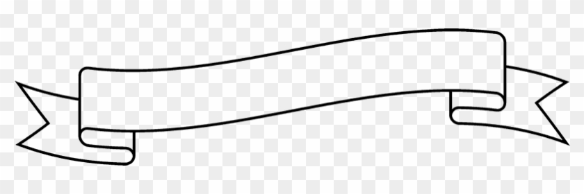 Ribbon Outline Png.