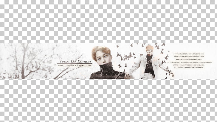 YouTube EXO Banner Art, banner para youtube PNG clipart.