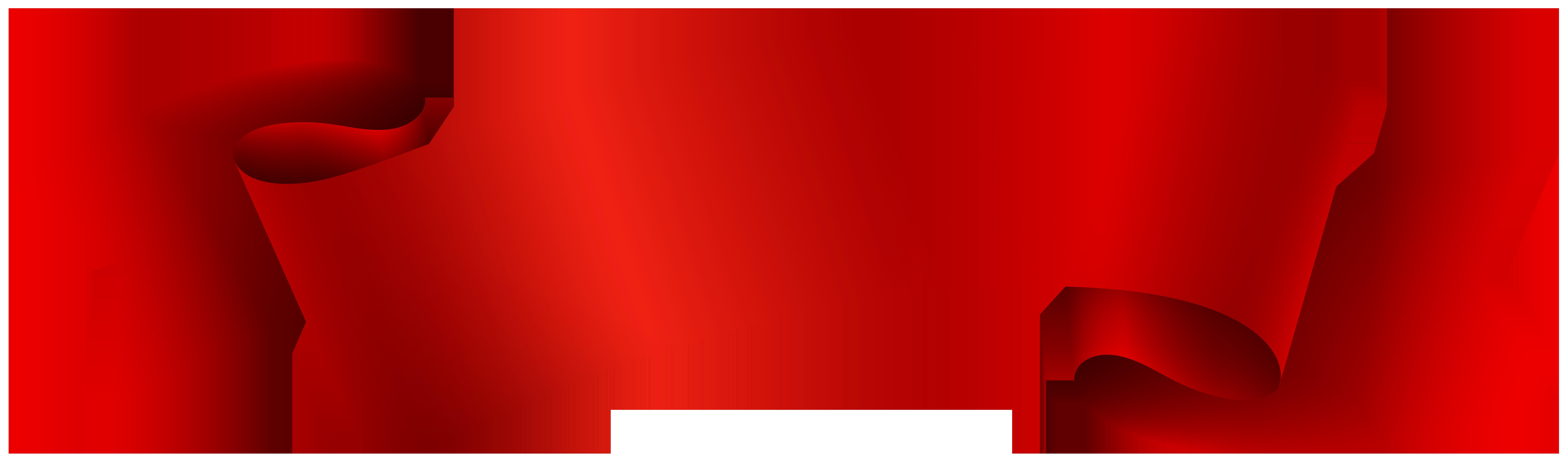 Banner Red Ribbon Clip art.