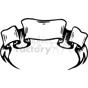 ribbons banners scroll clipart 007 . Royalty.