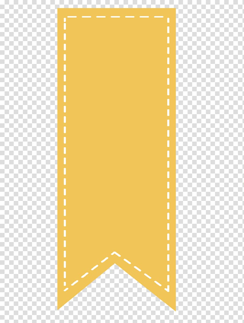 Yellow banner illustration, Bookmark Computer Icons, Sale.