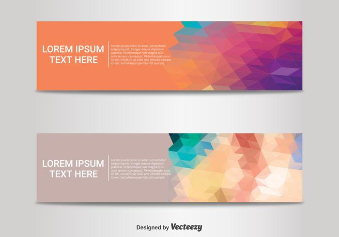 Abstract Banner Templates.