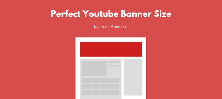YouTube Banner Size: The Perfect Dimensions in 2019(+Templates).