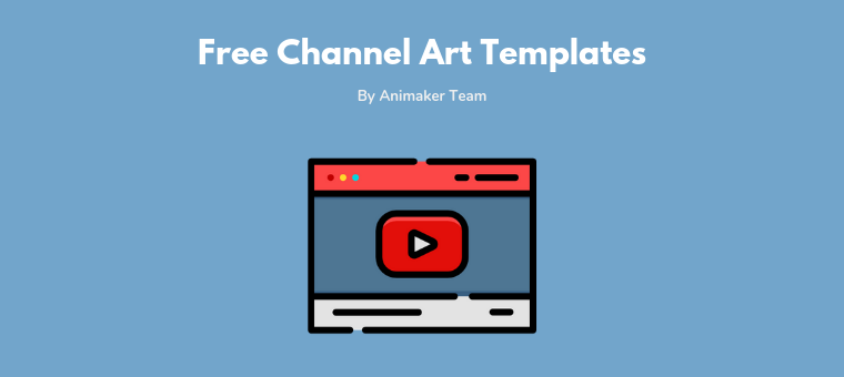30+ Free YouTube Channel Art Templates [Customize and.