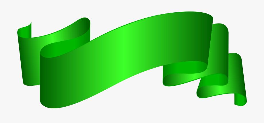 Banner Green Deco Clip Art Png Imageu200b Gallery.
