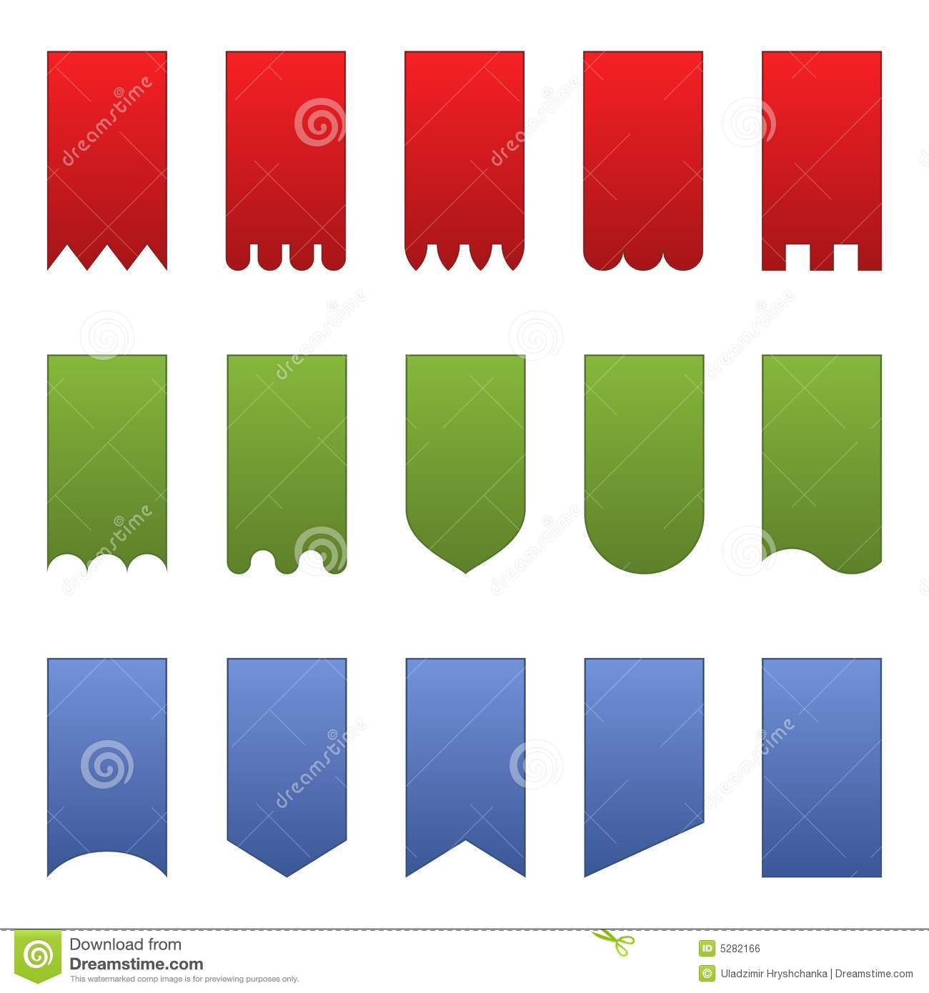 2344 Banners free clipart.