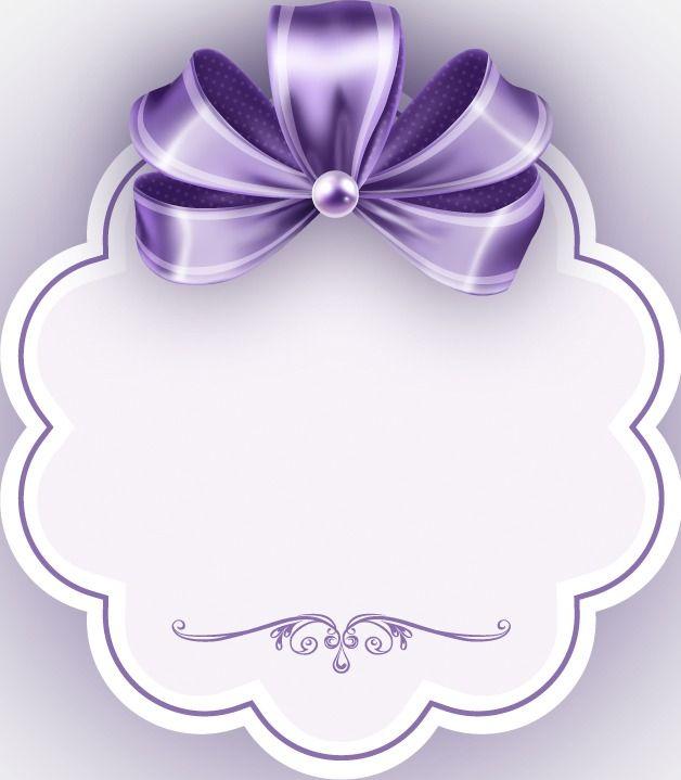 Purple Ribbon , Fita Roxa, Purple Frame, 文半框 Arquivo PNG.