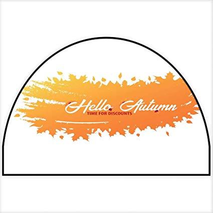 Amazon.com: Hua Wu Chou Half Round Door mathalf Round.