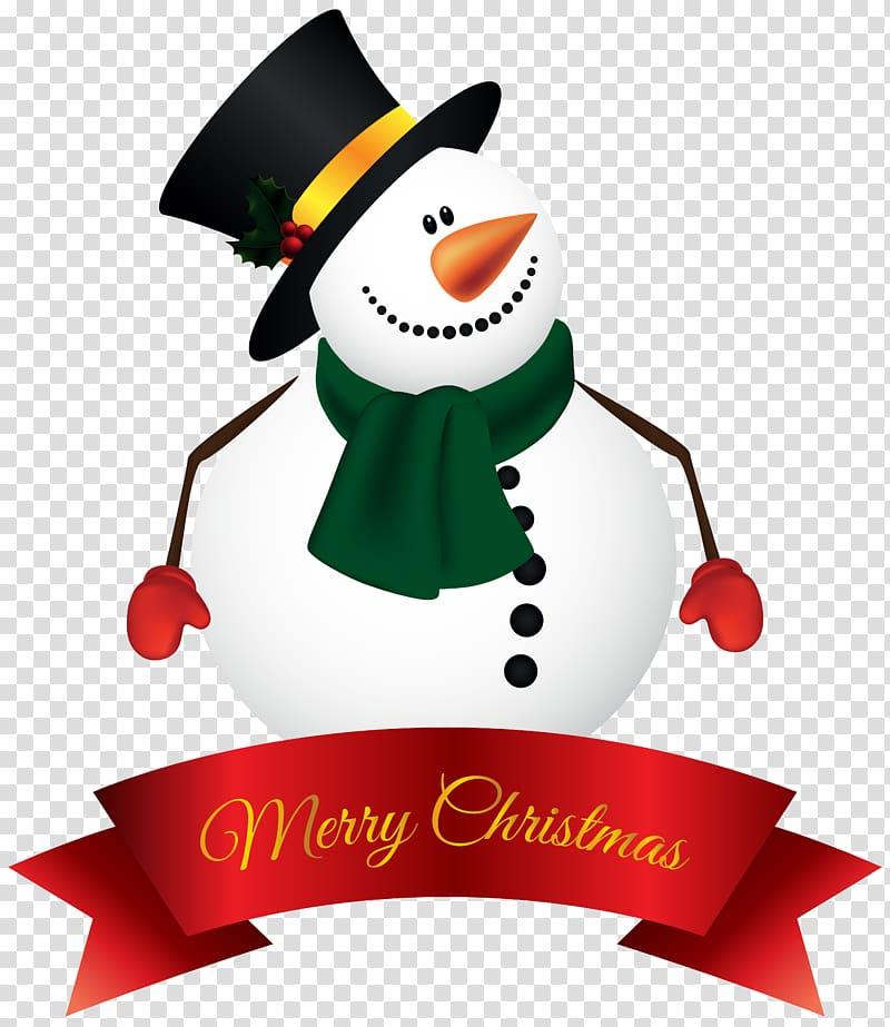 Snowman illustration, Santa Claus Snowman Christmas.