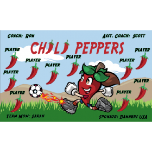 Chili 2 Soccer Banner Template Soccer Banners.