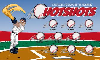 Baseball Banners, Little League Baseball Team Banners ideas.