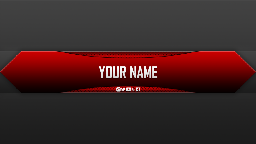 Youtube Banner clipart.