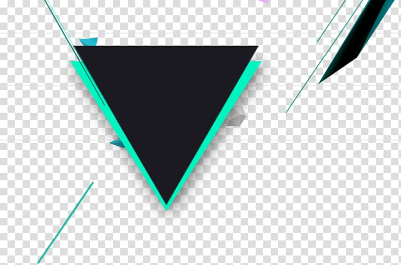 Black and blue triangle banner, Polygon Gratis Geometry.
