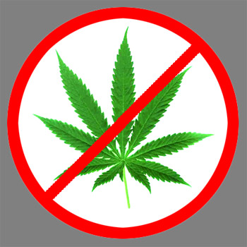 Weed Sign.