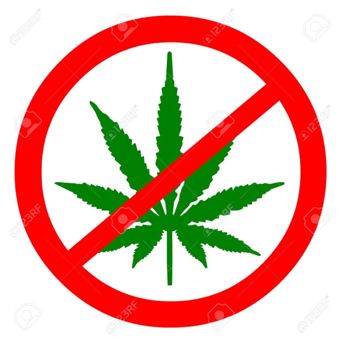 Ban Marijuana Royalty Free Cliparts, Vectors, And Stock.