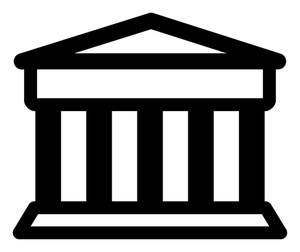 1185 free clipart bank building.
