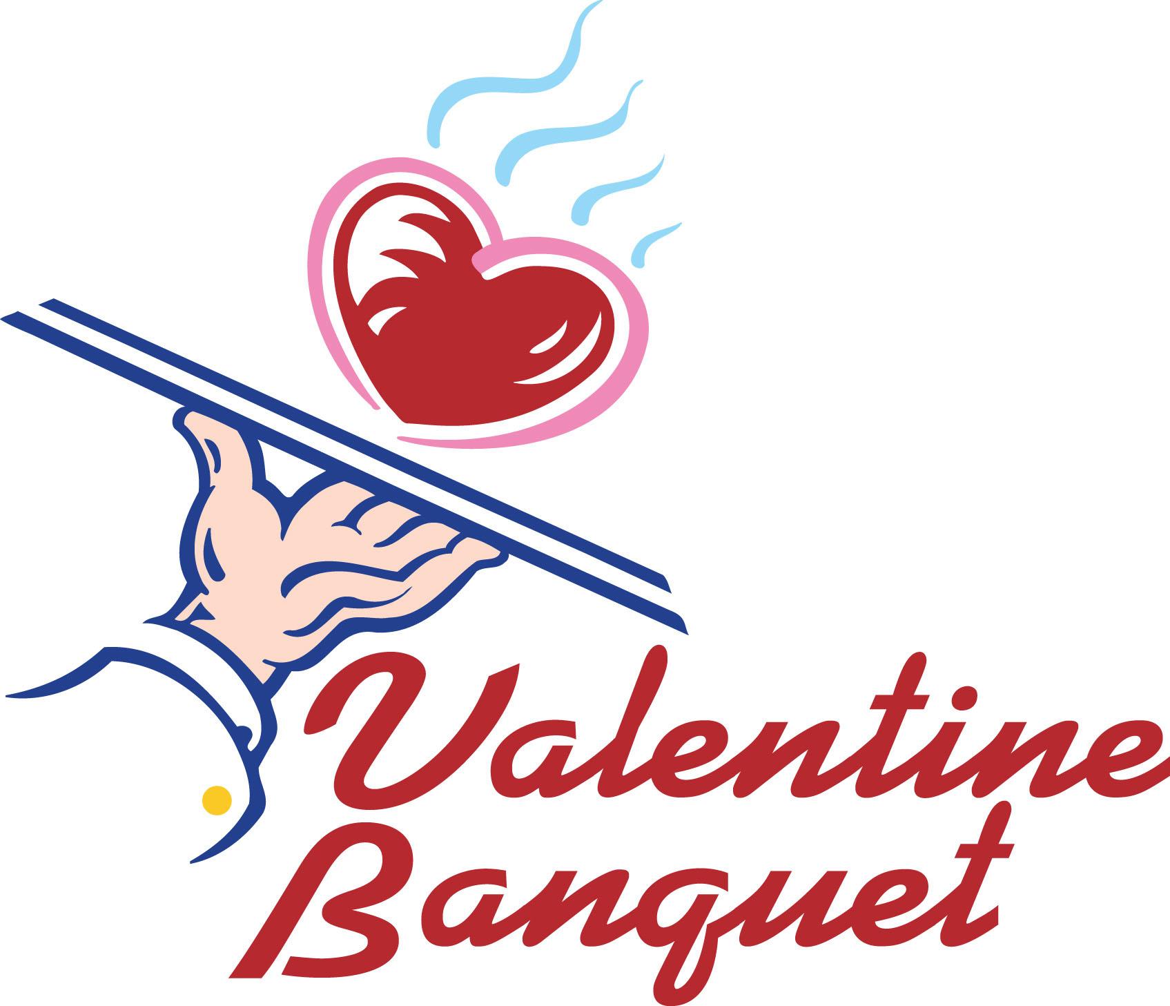 Valentine banquet clipart.