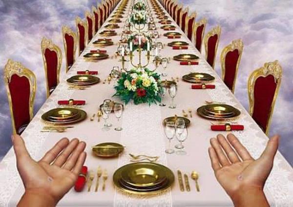 Great Banquet Clipart.