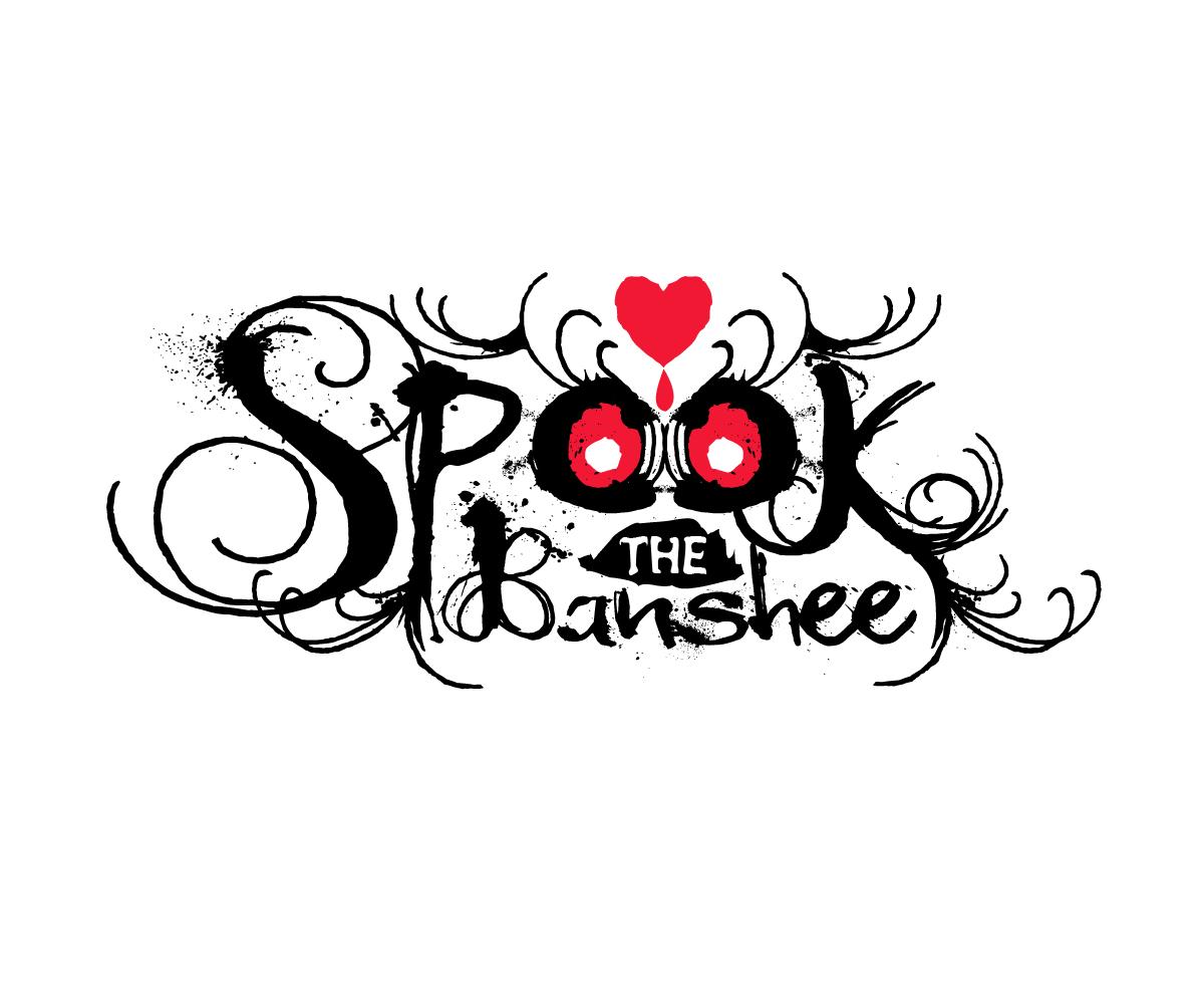 Elegant, Playful Logo Design for Spook The Banshee by.