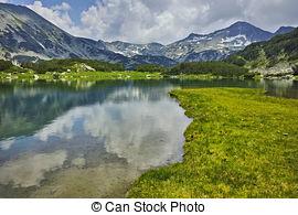 Stock Photo of Stone river in Bansko,Bulgaria.