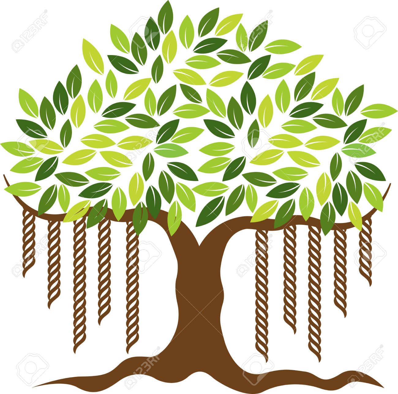 Banyan tree clipart 1 » Clipart Station.