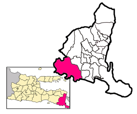 Pesanggaran, Banyuwangi.