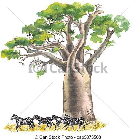 Baobab Illustrations and Clipart. 710 Baobab royalty free.