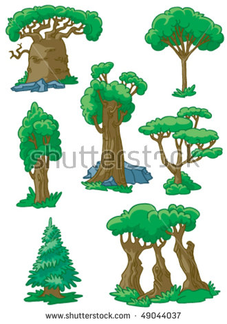 Baobab Tree Vector Stock Photos, Royalty.