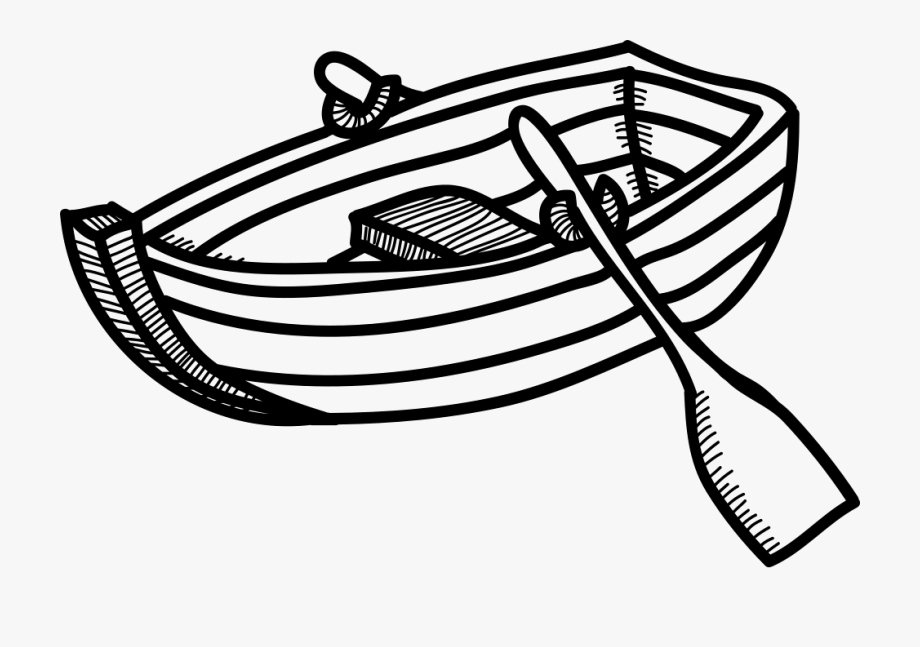 Rowing Boat Svg Png Icon Free Download.