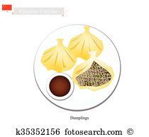 Baozi Clipart and Illustration. 47 baozi clip art vector EPS.