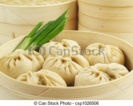 Picture of Chinese Steamed Buns.