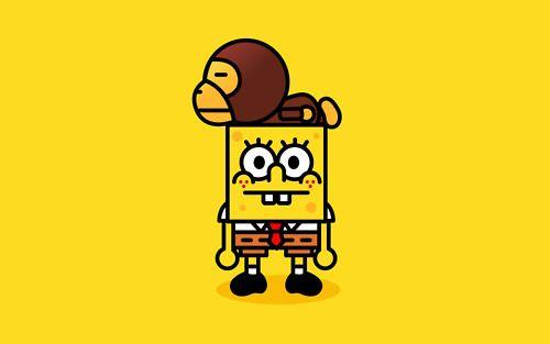 Sponge Bape.