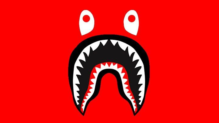 Meaning BAPE Shark logo and symbol.
