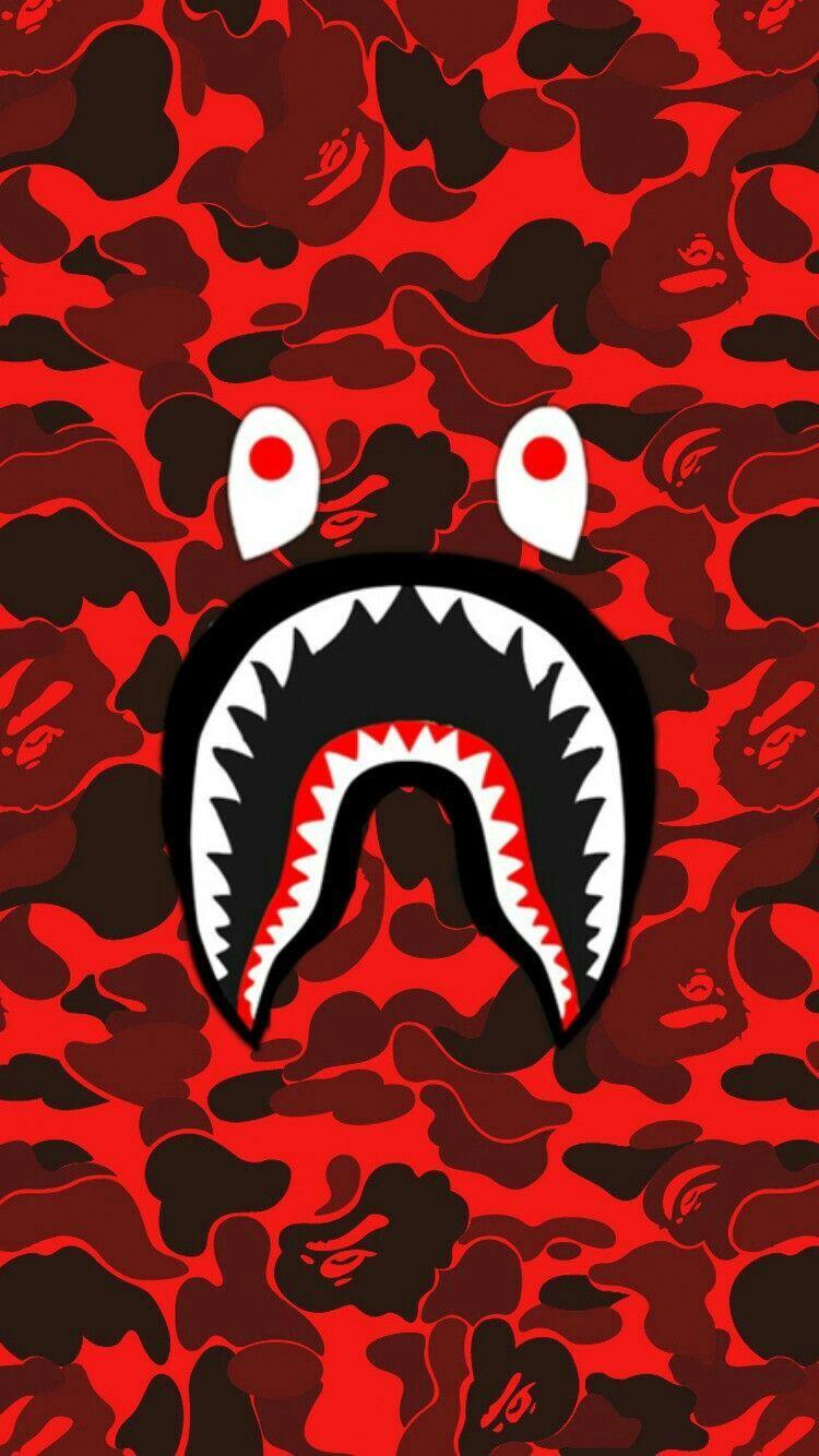BAPE Shark Logo Wallpapers.