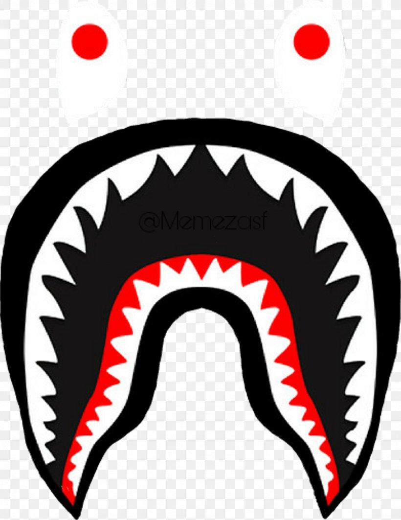 Shark A Bathing Ape Image Logo, PNG, 1024x1328px, Shark.