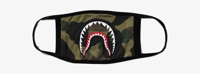 A Bathing Ape 1st Camo Shark Mask.
