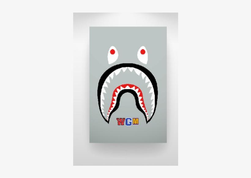 Bape Shark Logo Png PNG Images.